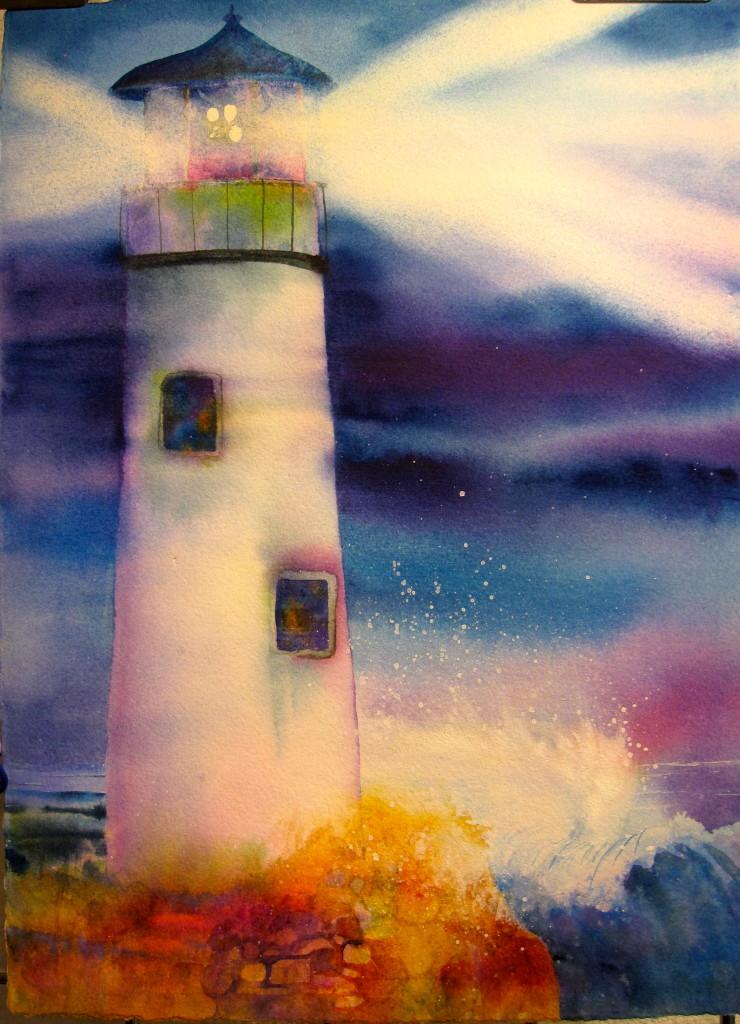 Lighthouse for Karen J