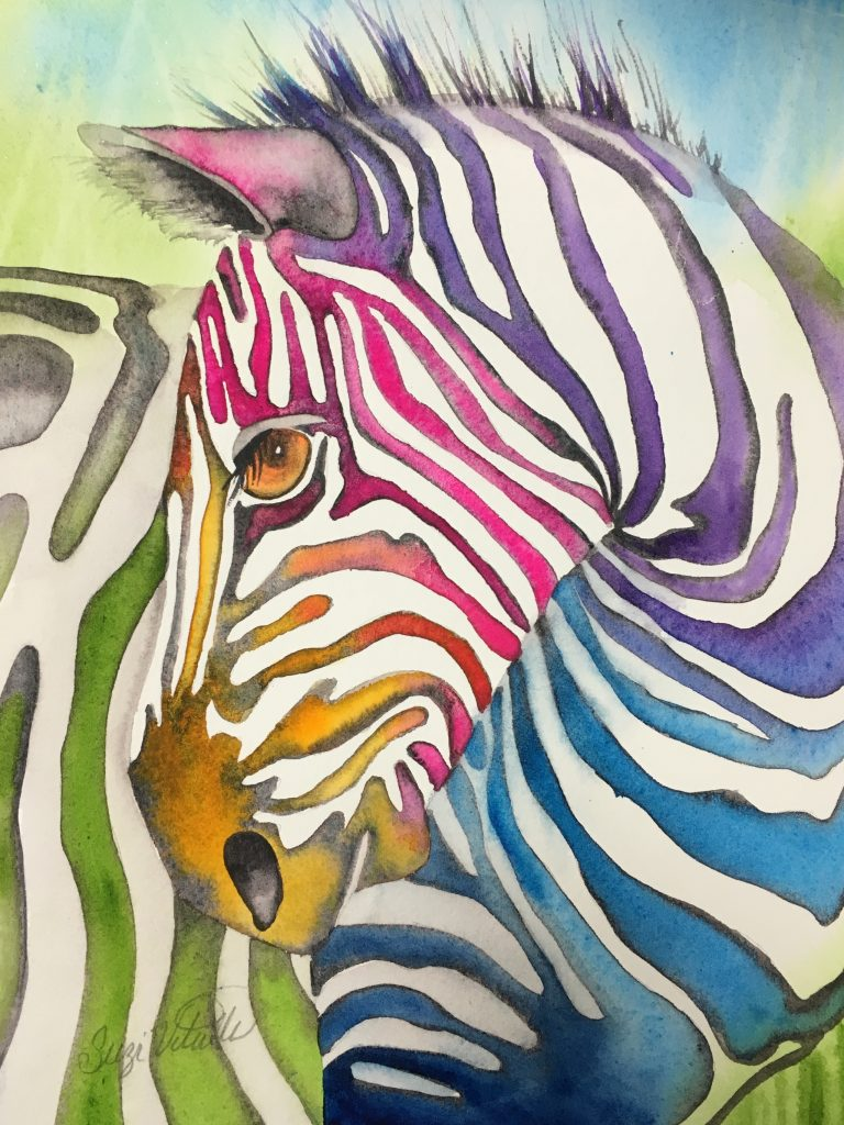 This image has an empty alt attribute; its file name is Zebra-Rainbow-768x1024.jpeg